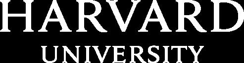 Harvard Logo in the color white