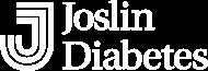 Joslin Diabetes logo in the color white